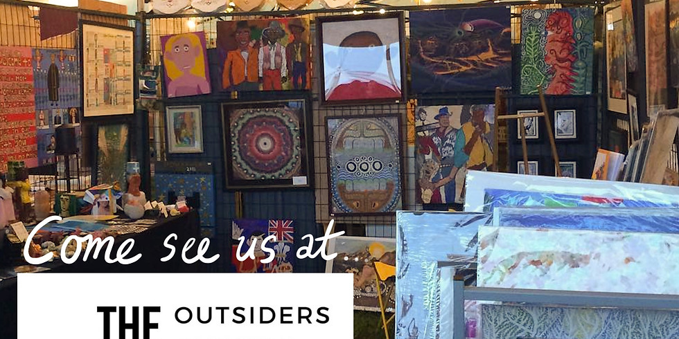 Project Onward at Outiders Outside Art Fair