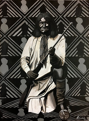 """""""Geronimo"""" by Andrew Hall"""