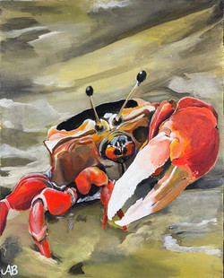 """""""Crabby"""" by Alfred Banks"""