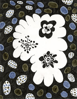 """""""Flowers in Soil"""" by Lucy Woodhouse"""