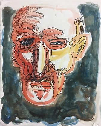 """Facial Abstraction"" by Luke Shemroske"