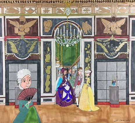 """The Grand Ballroom"" by Jacqueline Cousins Oliva"