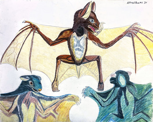 """""""Batty"""" by Alfred Banks"""