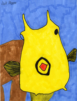 """""""Yellow Fish"""" by Jack Moore"""