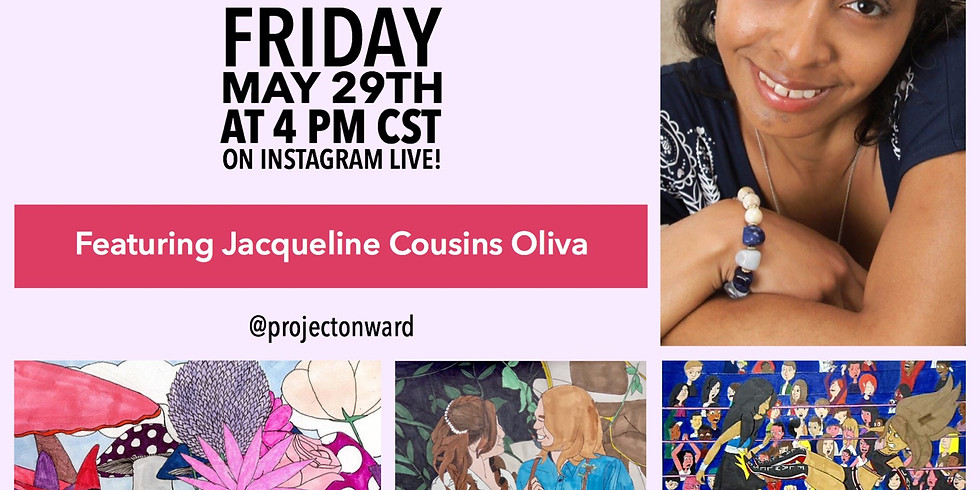 Artists at Home: Jacqueline Cousins Oliva