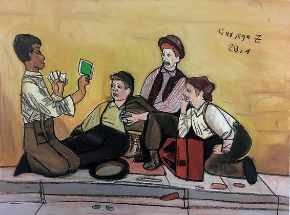 """""""Boys Club"""" by George Zuniga"""