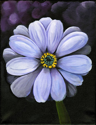"""""""Purple Daisy"""" by Alfred Banks"""