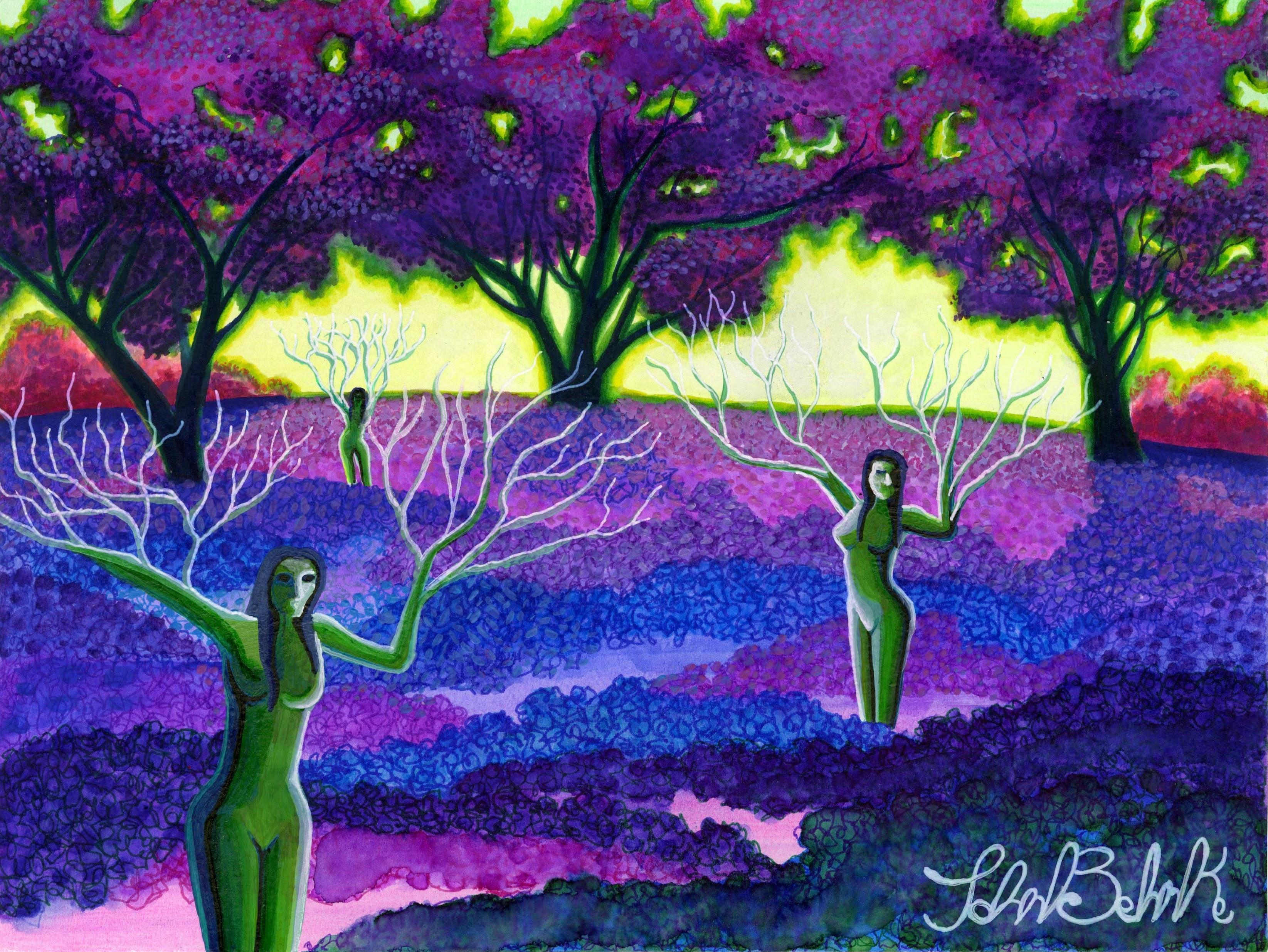 """""""Tree Women"""" by John Behnke"""