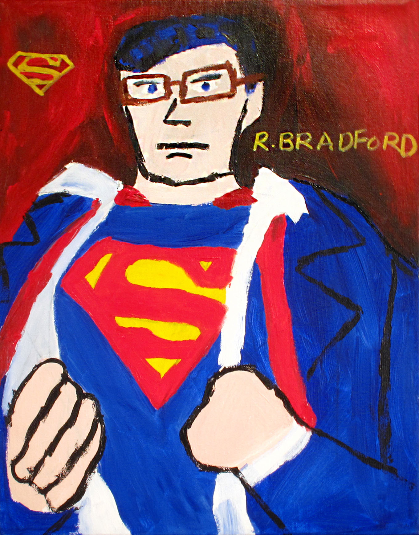 Ruby Bradford Superman with Glasses