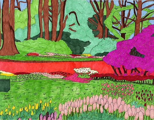 """Spring Landscape"" by Jason Harris"