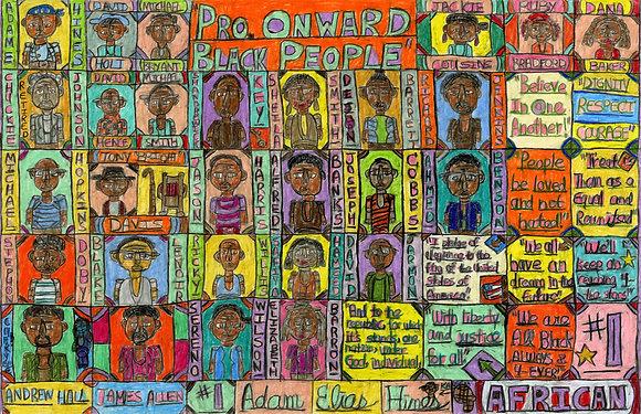 """Project Onward Black People"" by Adam Hines"