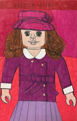 """""""Rebecca"""" by Molly McGrath"""