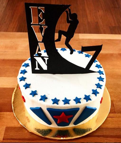 American Ninja Warrior Cake