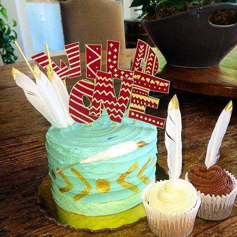 Phoenix's First Birthday Cake
