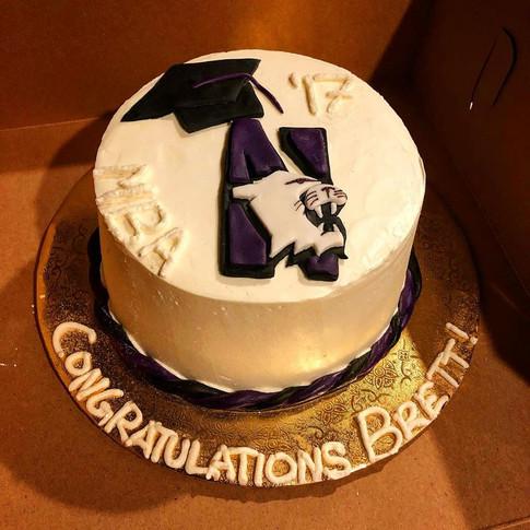 Brett's Graduation Cake