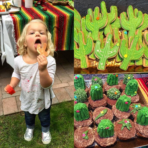 Karsyn's 2nd Birthday Cupcakes and Cookies