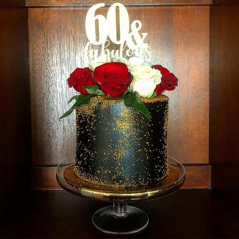 Cherly's 60th Birthday Cake