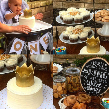 Noah's First Birthday Cake