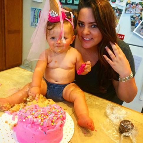 Winnie's First Birthday Cake