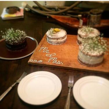 Levsey Cake Tasting