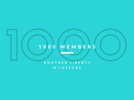 1000 Members!