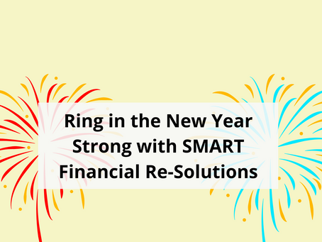 Ring in the New Year Strong with SMART Financial Re-Solutions