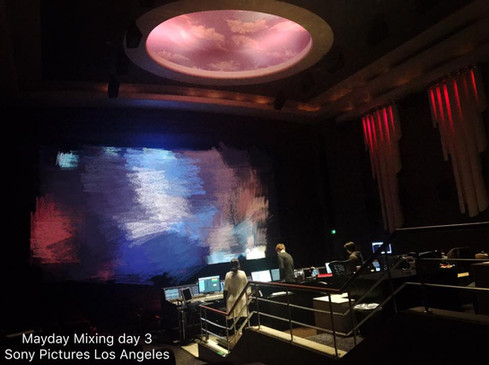 Mayday Life Mixing @ Sony Pictures