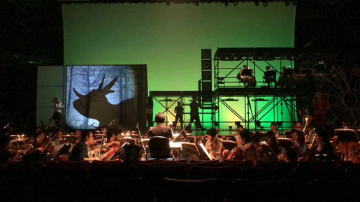 Composing for Taipei Symphony Orchestra Musical 前進理想國