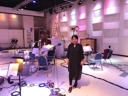 Recording session at EastWest Studio Los Angelles
