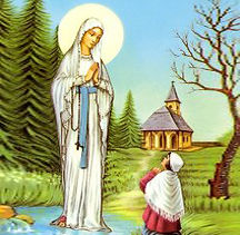 the virgin of the poor- our lady of bann