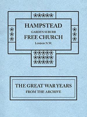 Hampstead Garden Suburb Free Church London N.W.