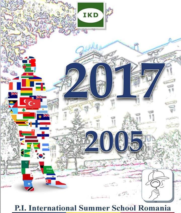 Locandina edizione 2017 PI International Summer School Sinaia Romania