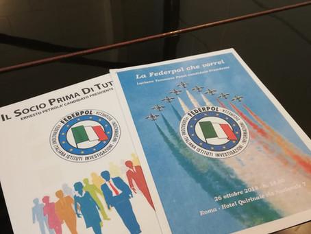 Assemblea nazionale Federpol: Luciano Ponzi nuovo presidente