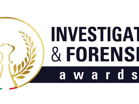 Forensic & Investigation Awards 2019