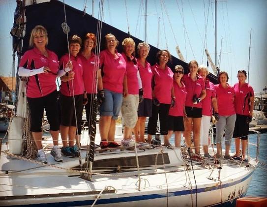 #kbscbunbury #allgirlcrew #sailing #race