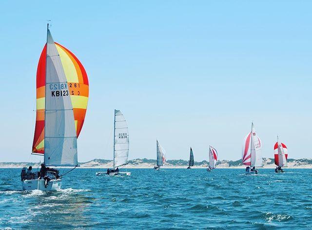 #saturdayracing #sailing #yachts #spinna