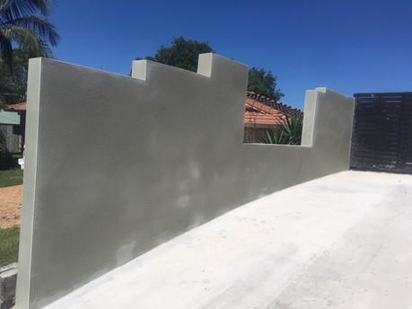 repair rendered fence mango hill (3).JPG