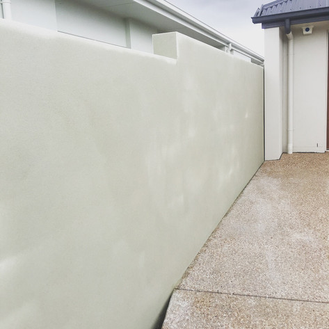 Fence Render block fence Sunshine Coast.JPG