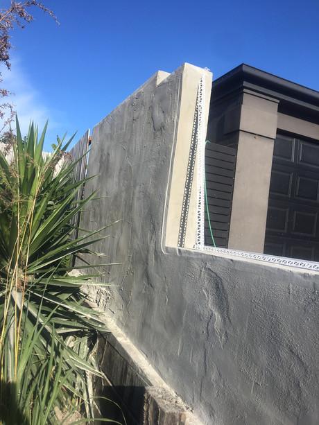 repair rendered fence mango hill.JPG
