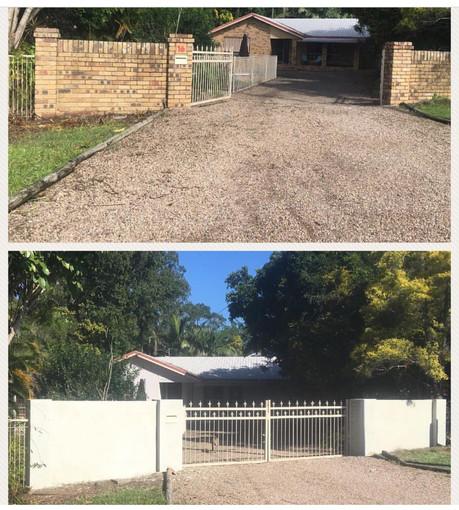 Rendere brick fence - Landsborough.jpg