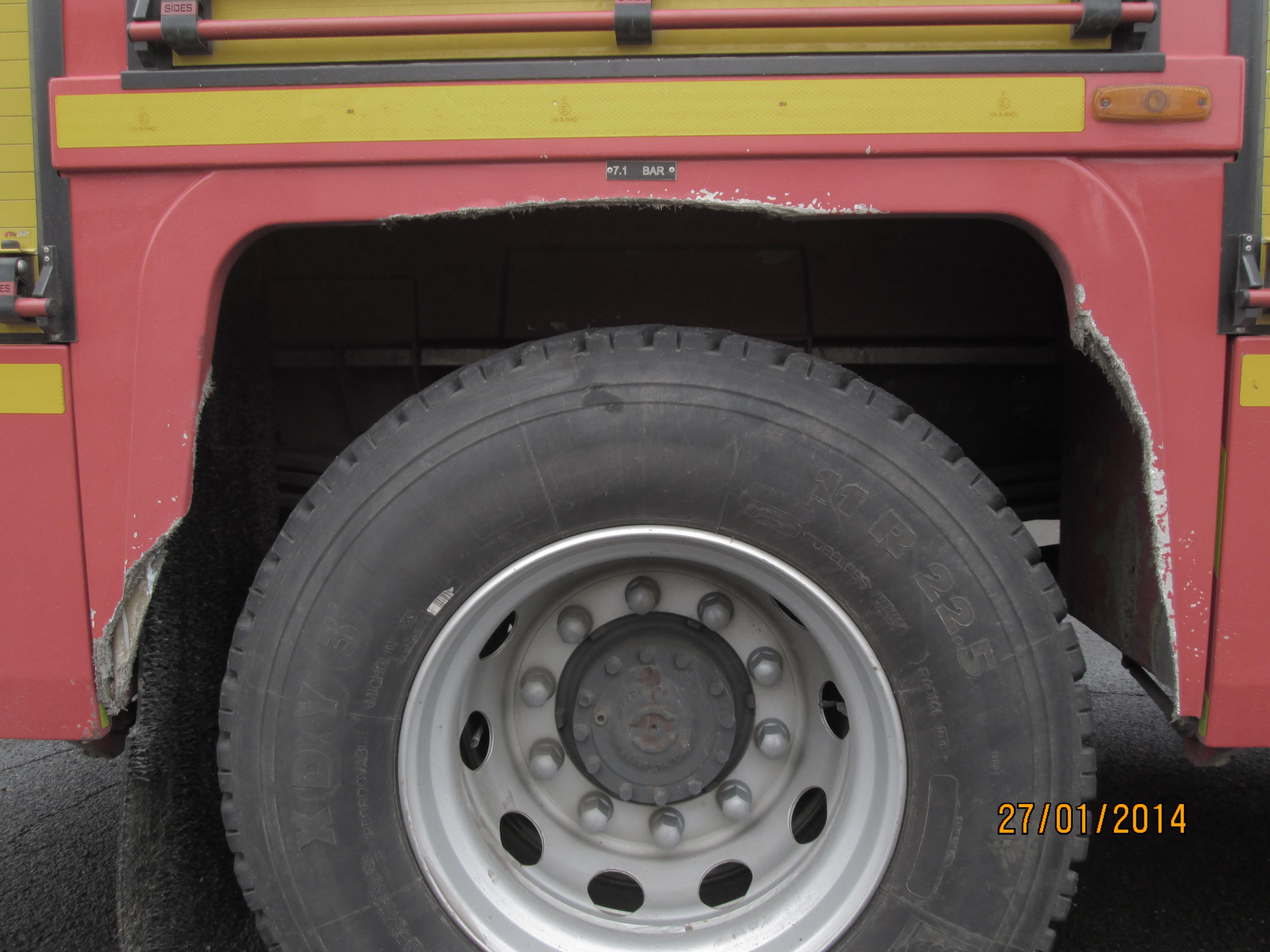 Camion de pompier AV zoom