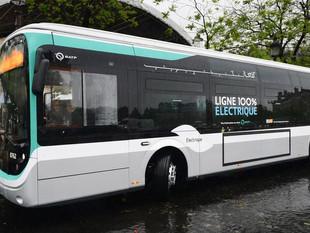 Le premier bluebus de 12 mètres en essai à la RATP !