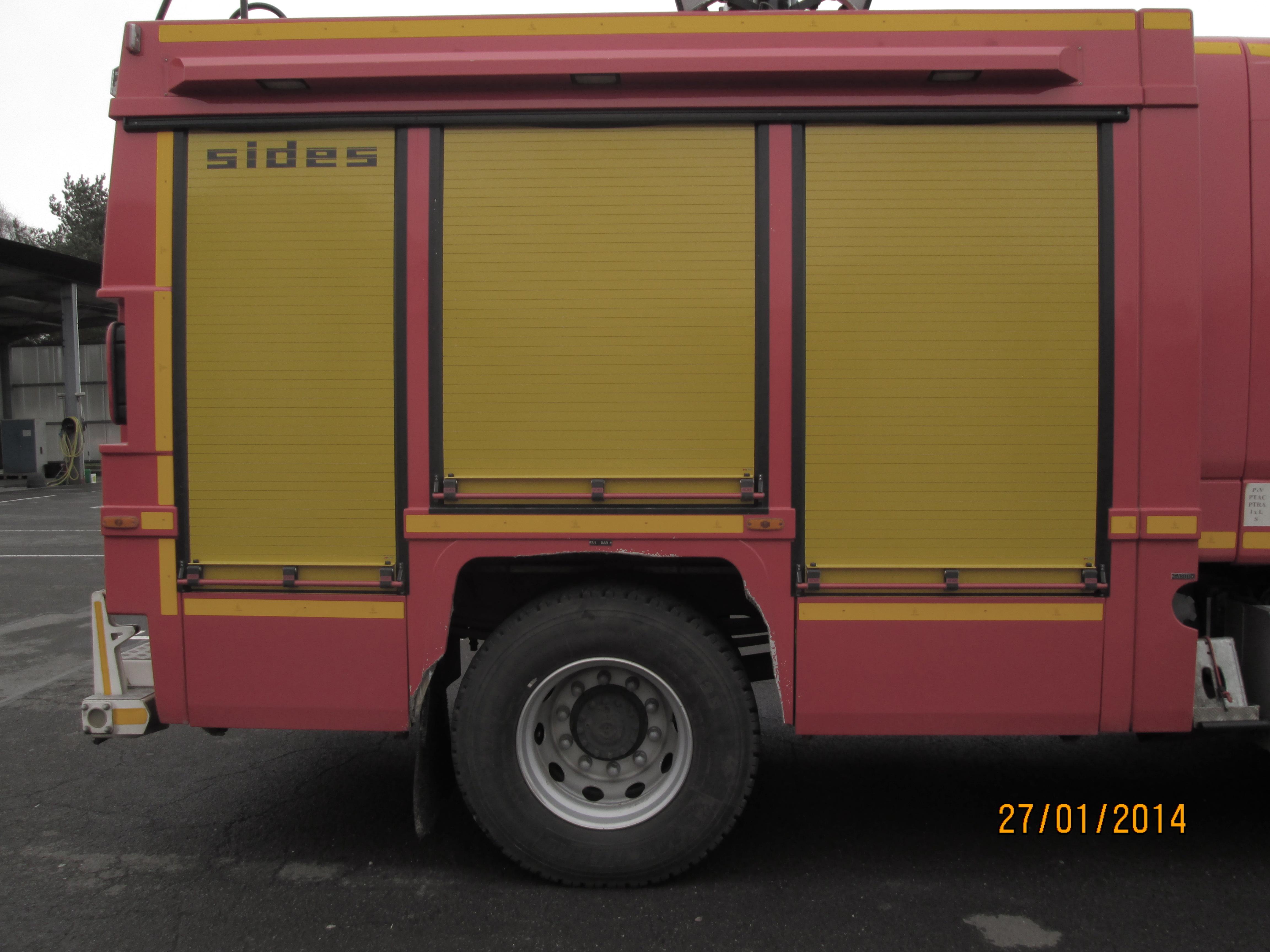 Camion de pompier AV