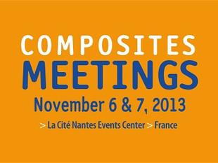 Composites Meetings 2013: Convention d'affaires Internationale des matériaux composites