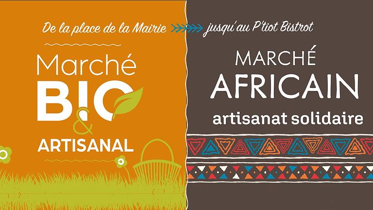 Marché Bio & Artisanal + Marché Africain
