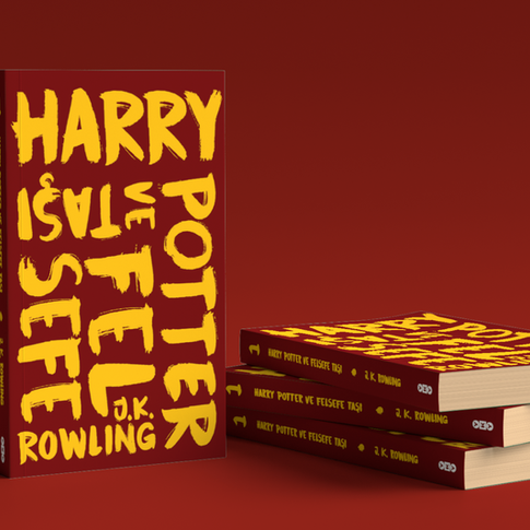 Harry Potter Books Redesign