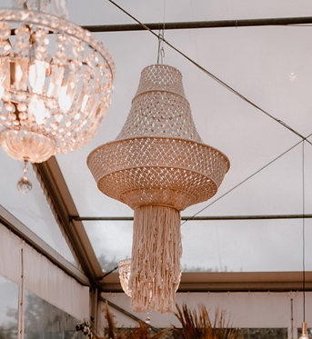 XL Macrame Chandelier