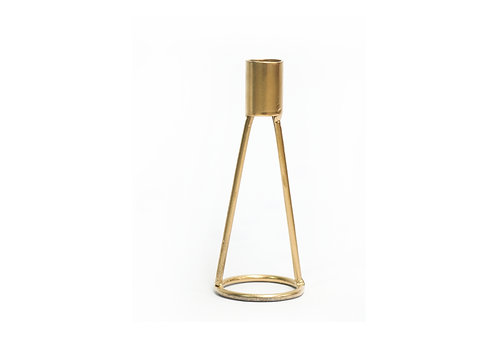Loop Candle Holder - Gold