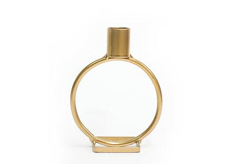 Circle Candlestick - Gold