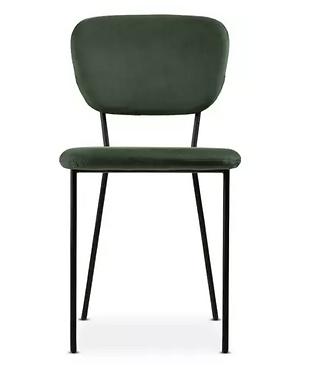 Chloe Velvet Chair - Emerald Green
